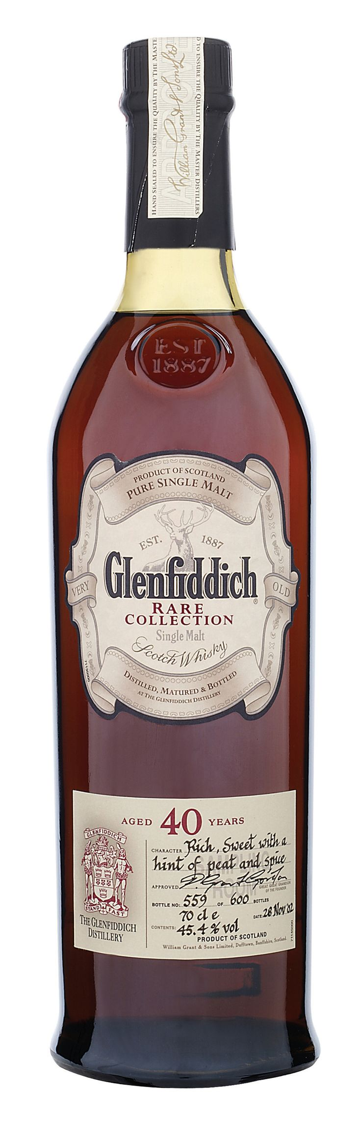Glenfiddich 40 Years Old - I want to try just because it's 40 yrs old