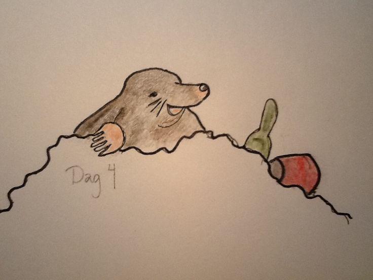 #Day4 - eeh...mole?