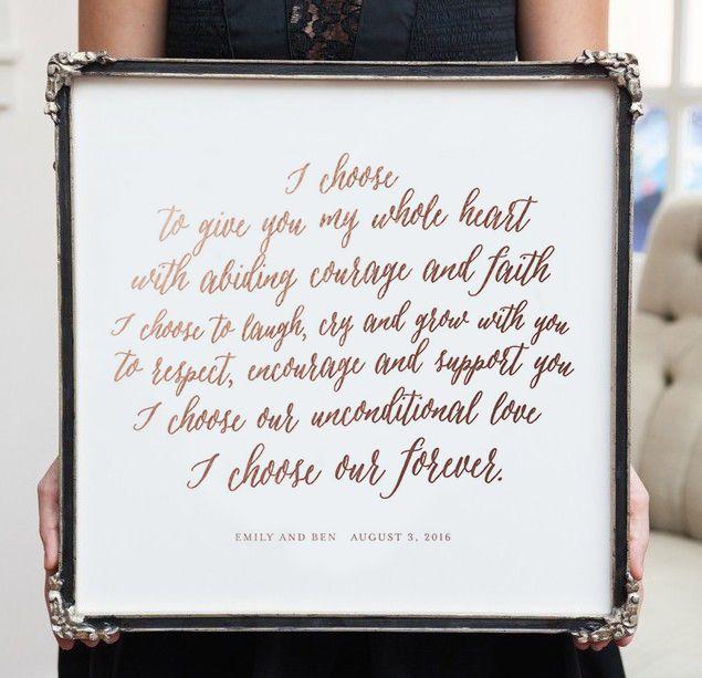Best 25 Wedding vow art ideas on Pinterest Canvas wedding