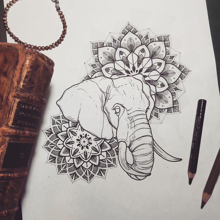 Elephant Mandala Tattoo Tattoos T Tatuajes Elefantes Y: Best 25+ Sunflower Mandala Ideas On Pinterest