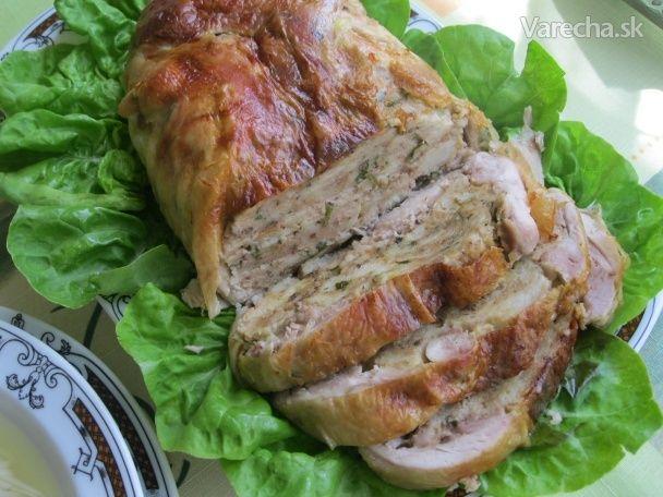 Plnené kurča (fotorecept)