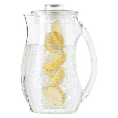 Fruit Infusion water pitcher.  I saw this at my friend Cindy's last night.  I'm buying one this weekend!