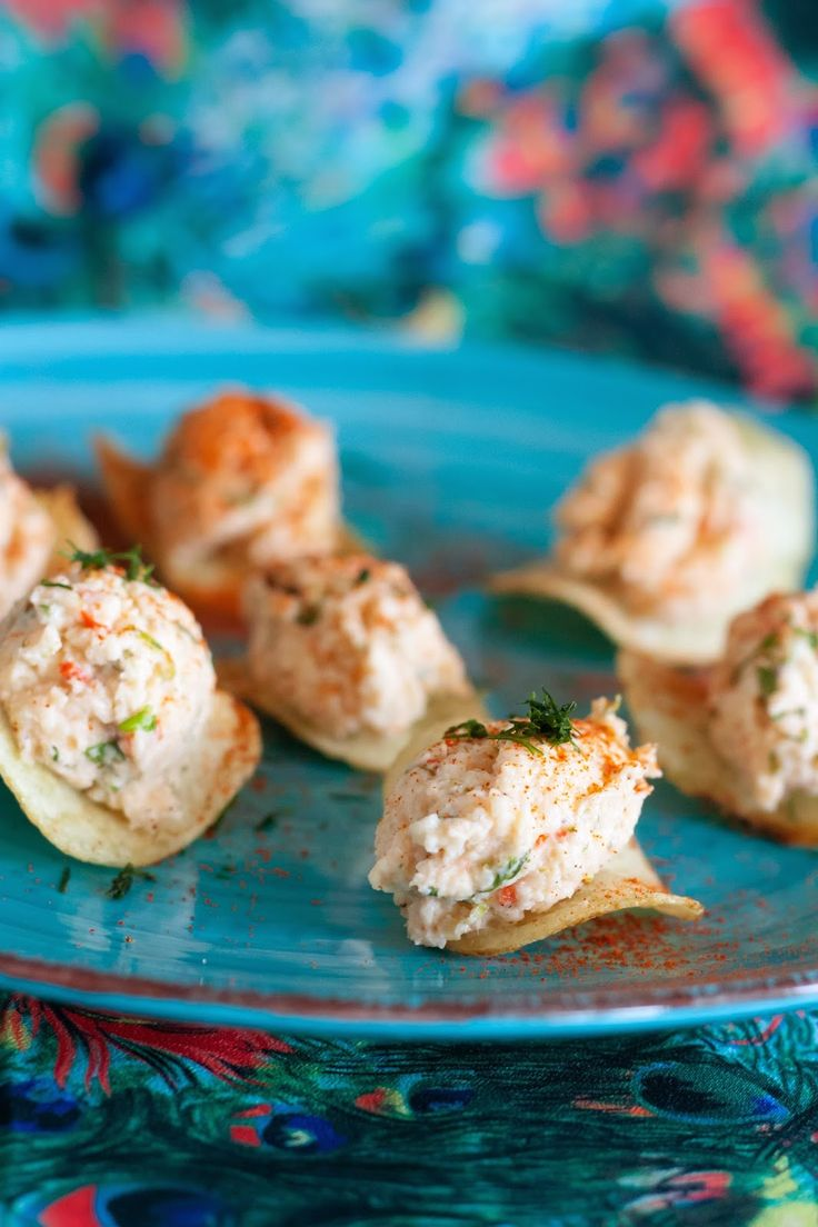 Gourmetmorsan: Smarriga tilltugg - Chips med het räkröra!