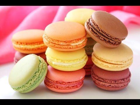 How to make French Macarons? Макаруны. Видео рецепт! - YouTube