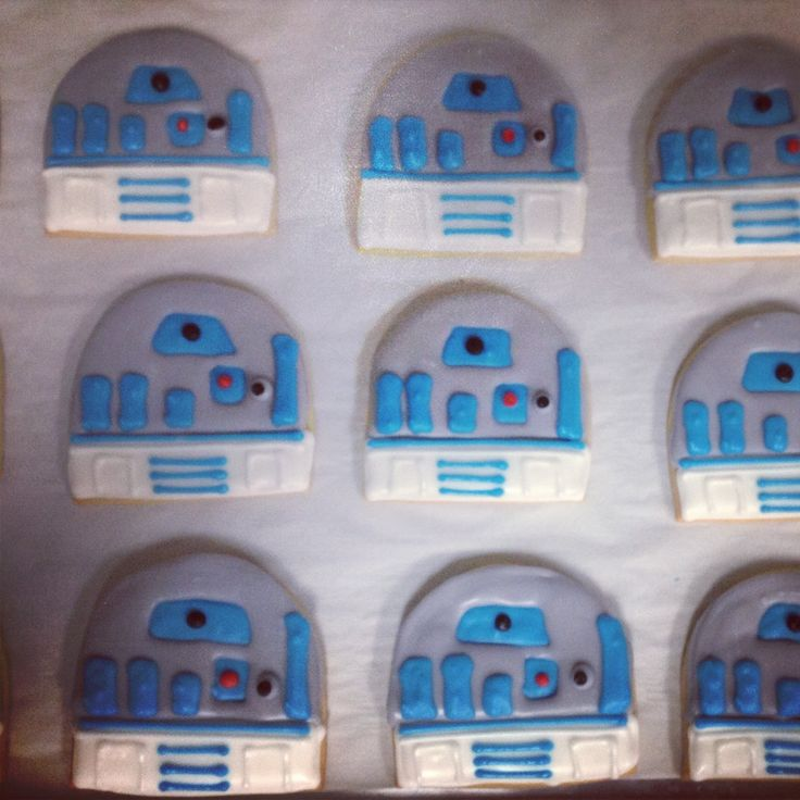 May The Fourth Be With You Treats: 17 Best Images About Star Wars Party: Cookies On Pinterest