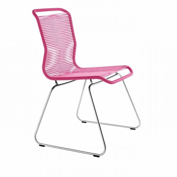 Verner Pantons tivoli chair in pink, junior stolen
