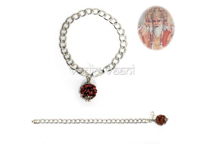 4 Mukhi Rudraksha Brahma Bracelet buy online from India