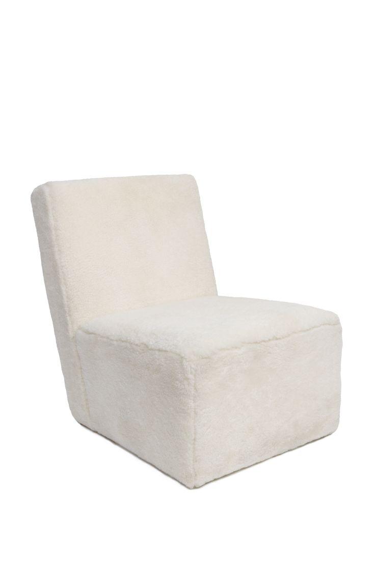 Petit Frank Sheepskin Armchair, Design by Hervé Langlais