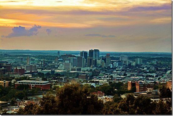 Birmingham, at Dusk.