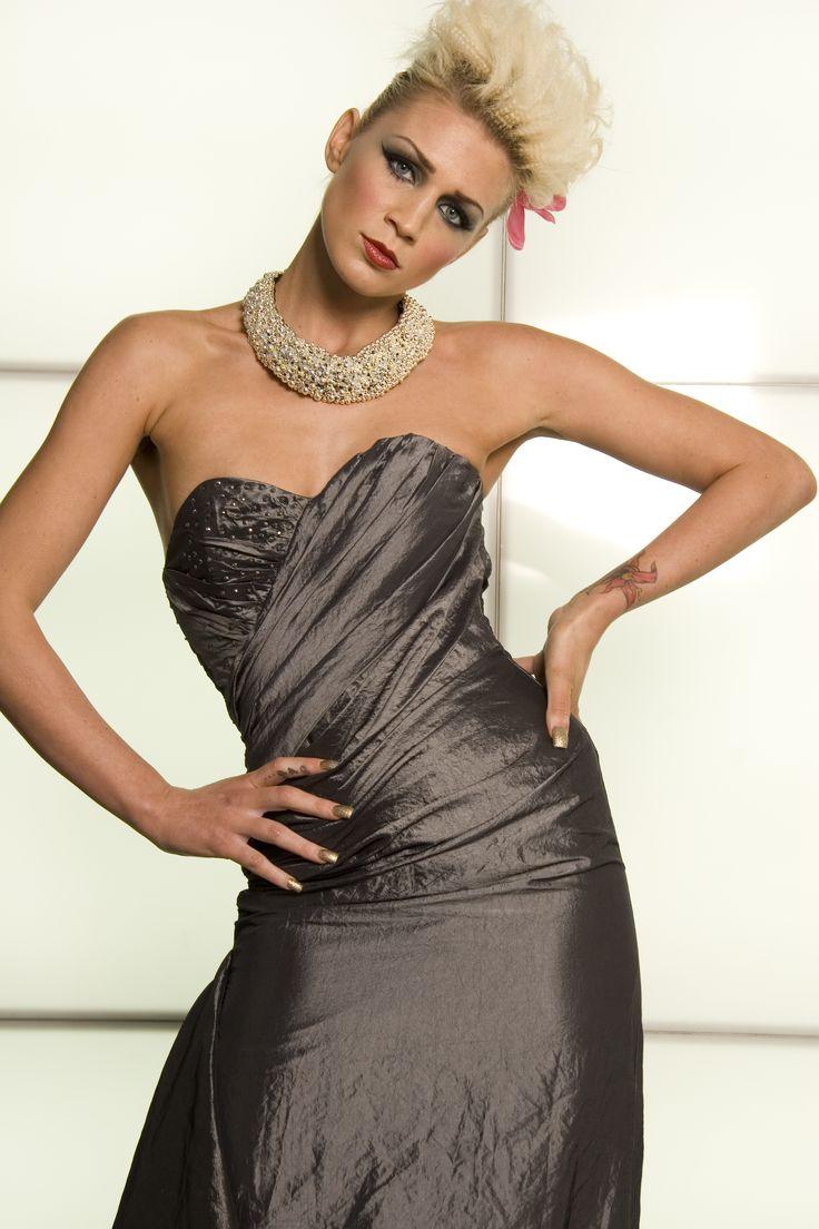 Sarah Banks Photography and Sarah Banks designed Charas corset dress.