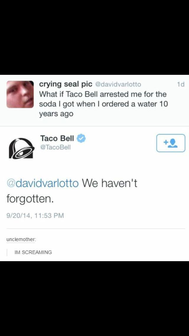i love taco bell's twitter