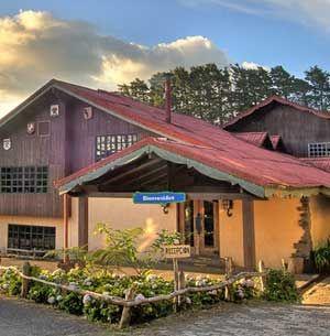 The historic Hotel Chalet Tirol is a magical, beautiful and romantic Villa found on the lush hillsides of Heredia.  http://www.costaricajourneys.com/hotel-chalet-el-tirol/ #historichotel #hotelincostarica