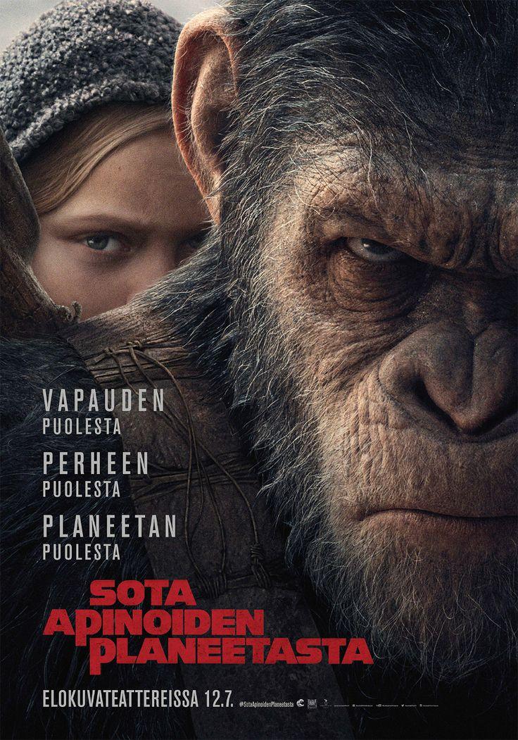 """⭐⭐⭐⭐ """"Sota apinoiden planeetasta on tietokoneanimaatioiltaan suorastaan vallankumouksellinen. Leffa vaatiikin tulla nähdyksi valtavalta valkokankaalta."""" - NI, Episodi  SOTA APINOIDEN PLANEETASTA elokuvateattereissa nyt 🎬"""
