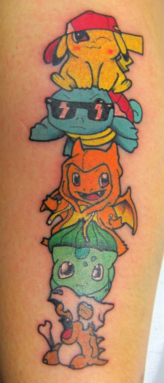 Tattoo On Pinterest Pokemon Nintendo And Mario