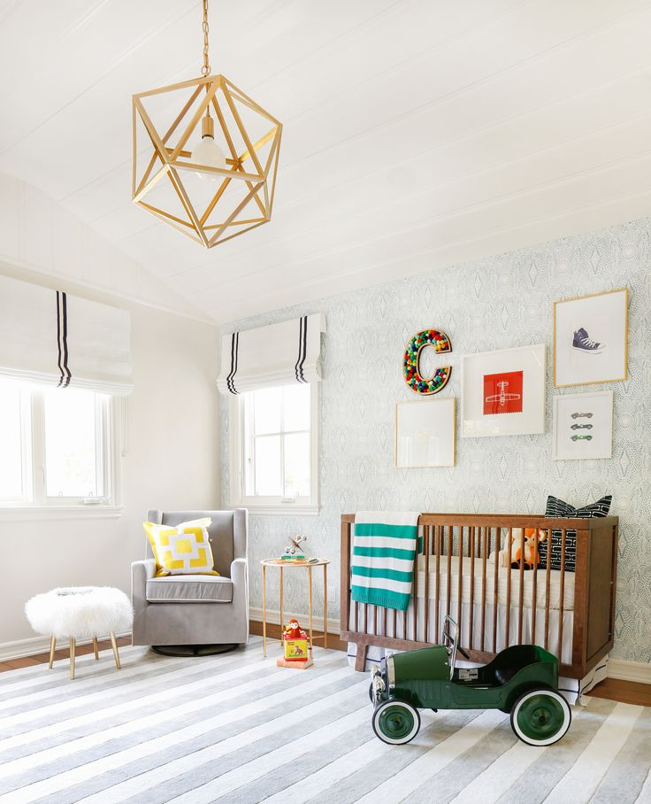 Colorful Vintage Modern Nursery
