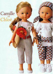 Modèles pour Camille et Chloé  Marie-Claire Idées n° 90 - Mai/Juin 2012