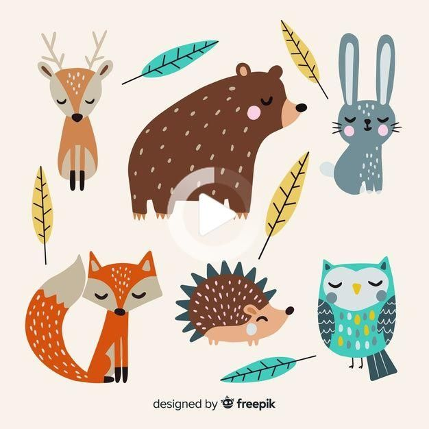 Poster A3 Poster Illustration  210 x 297 mm 11.7 x 16.5 A4 Enchanted forest deer  Decoration 8.3 x 11.7 297 x 420 mm