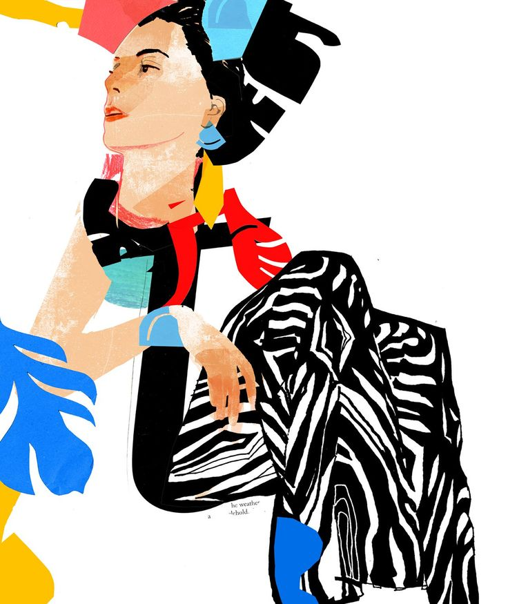 BoHo Afternoon, Philippos Theodorides.Illustration, giclee print, 201770 x 80 cm , 27 9/16 x 31 1/2 in. . EDITION of 5.Courtesy of the artist.