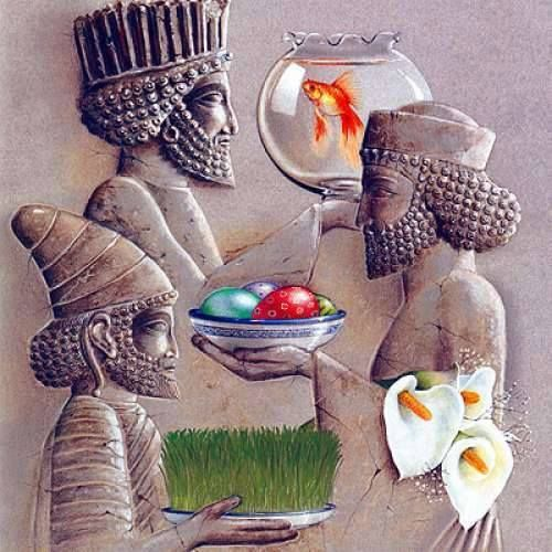 ¡FELIZ AÑO NUEVO NORUZ 1394! Nouruz, Noruz o Norouz, (escrito نوروز en persa), es el año nuevo del calendario persa, que se celebra en Irán coincidiendo con el equinoccio de primavera. Se festeja también en otros territorios que recibieron la influencia de la cultura persa, como Azerbaiyán, Afganistán, Uzbekistán, Tayikistán, Turkmenistán, Pakistán, y en algunas regiones de India.  También se celebra en Turquía y algunos países de Asia Central. Nouruz es el festival del primer día de la…
