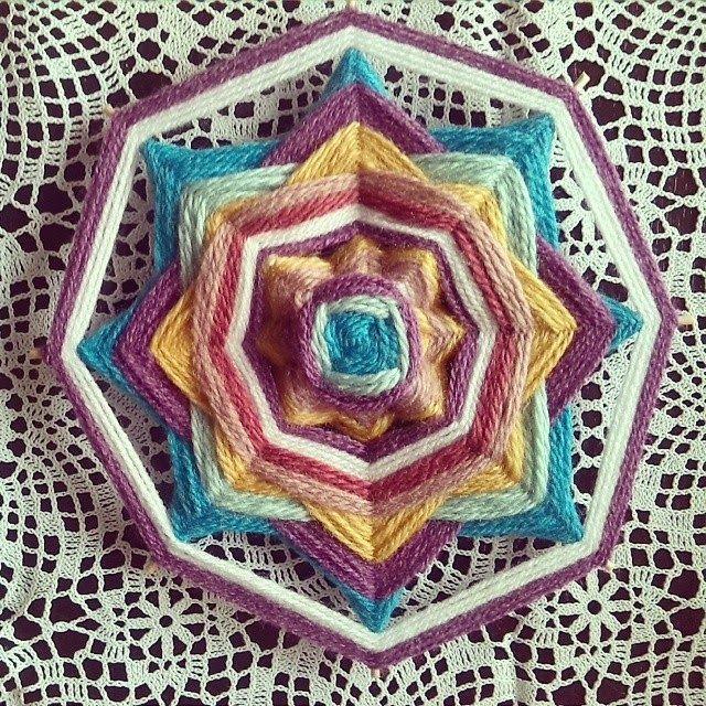 noflik nifelje: mandala weven