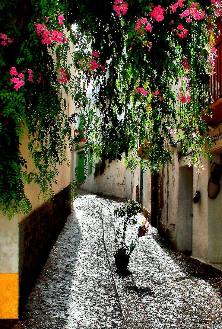 Spain, Ibiza island, Eivissa, walking in the Dalt Villa (Old Town)  _  Spanyolország, Ibiza sziget, Eivissa, séta a Dalt Vila-ban (óvárosban)_photo by Peter Farsang