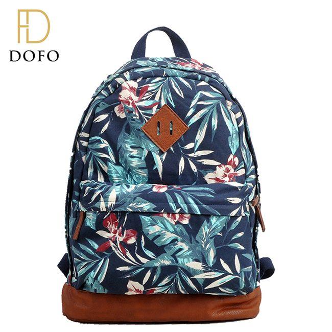 New fashion custom design folding waterproof scool bag school backpack