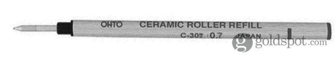 Ohto Refills Black Ceramic .7mm Rollerball Pen