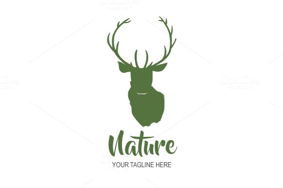 Nature Logo Design by Florin Chitic on @creativemarket