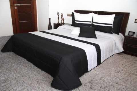 obojstranny-cierno-biely-prehoz-na-postel