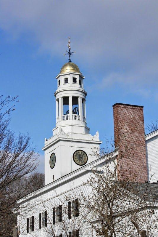First Unitarian Church Tower, Concord