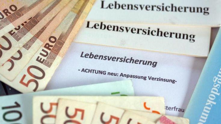 Erstattung der Steuern: Wenn die Lebensversicherung fällig wird