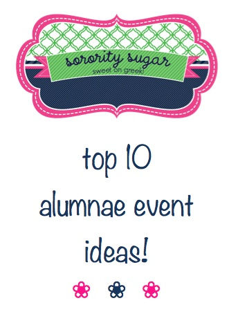looking for some new events to host with alums? check this out via @Paula Stange sugar
