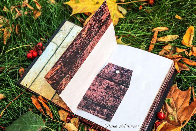 Новые блокноты, осенние фотографии