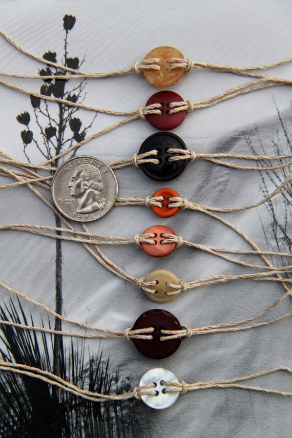 button bracelets!