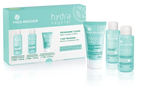 Normal to Combination Skin 7-Day Program  #yvesrocher #hydravegetal #skincare