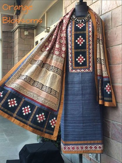Orissa ikat Available at www.facebook.com/orangeblossomwomensclothing