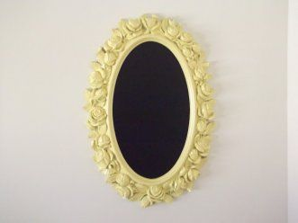 Mirror Chalkboards  This is a particularly good project for tarnished or foggy mirrors. All you'll need is chalkboard paint and a mirror—repainting the frame is completely optional.    Image Credit and Directions:Trash to Treasure