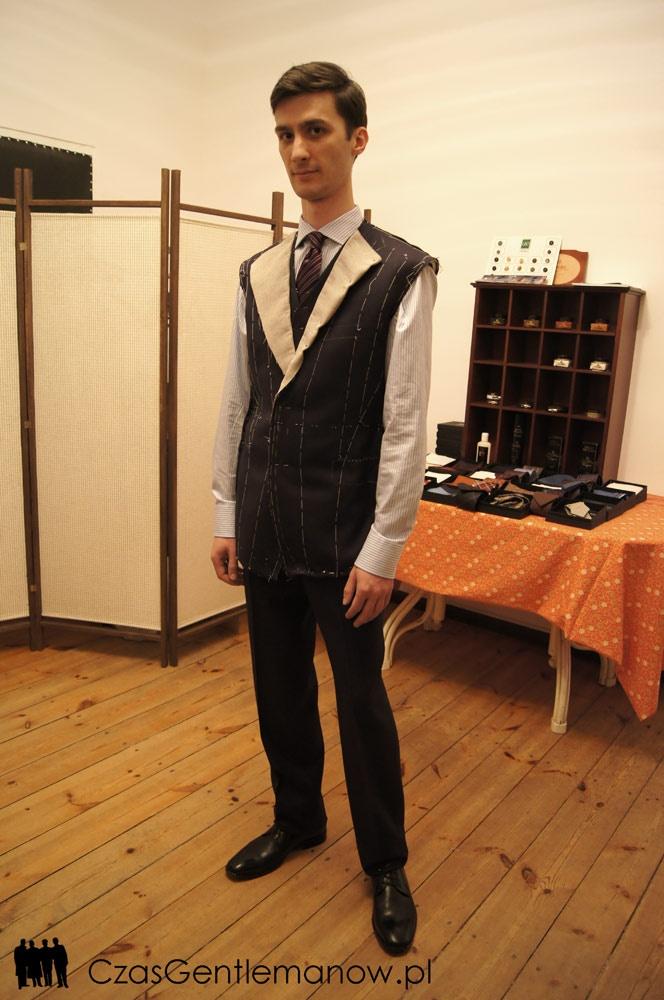 I przymiarka - pierwsze efekty | First suit fitting - first effects