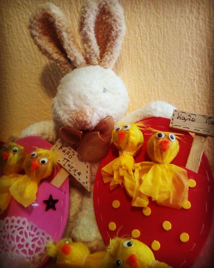 Feliz Pascua_ Lollipops chickens