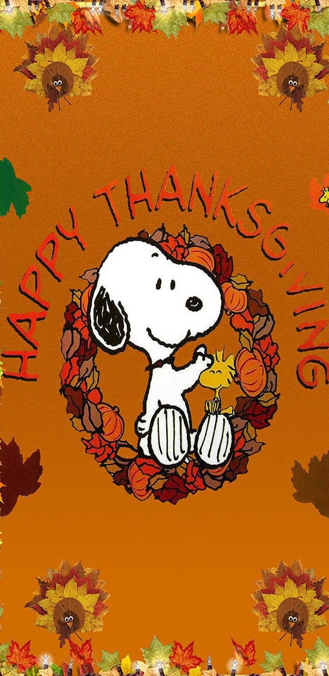 Pin by Jada Lee on Quotes | Thanksgiving snoopy, Thanksgiving wallpaper, Happy thanksgiving wallpaper