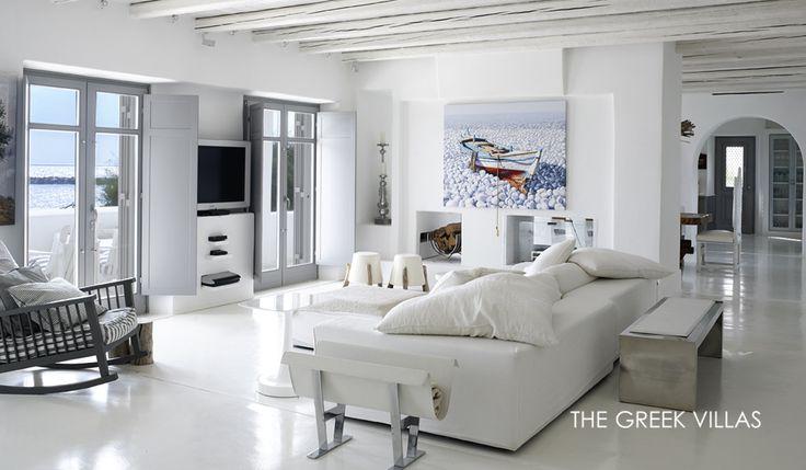 Greek Luxury Villas, Syros Villa Fulham, Cyclades, Greece