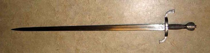 """""""Den Försvunna värjan"""" ifrån 30-åriga kriget. Den användes under hela kriget av officerare. Den var mest populär bland svenskar"""