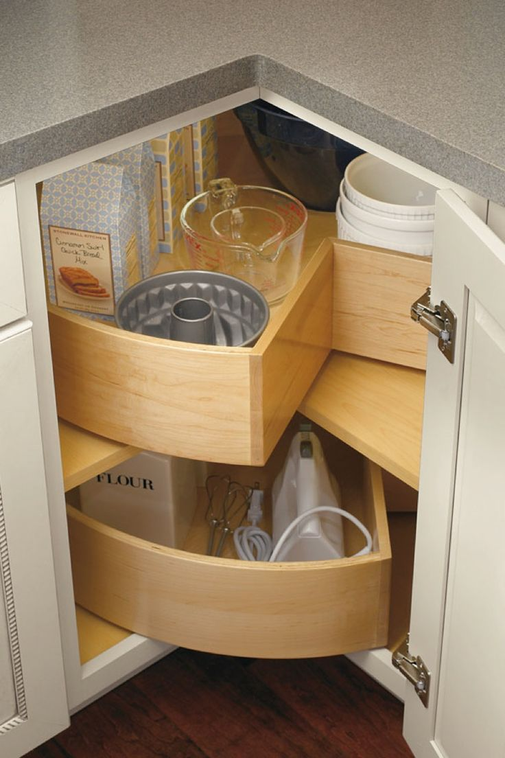 Creative corner kitchen cabinets - Creative Kitchen Storage Ideas Upgrade Your Drawers And Shelves