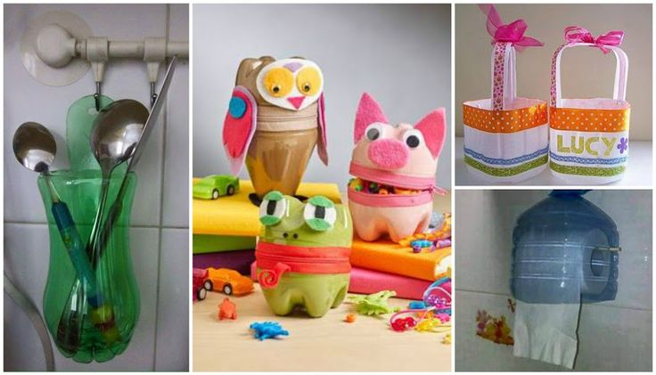 1000 images about reciclando on pinterest plastic - Ideas para hacer manualidades ...