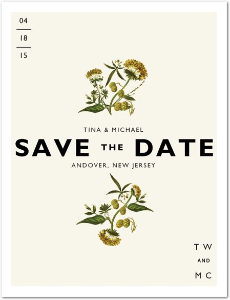 save the date.