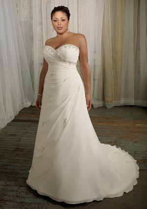 My Wedding Dress!   Mori Lee Julietta: 3106 - Delicate Chiffon with Beading                                 beautiful