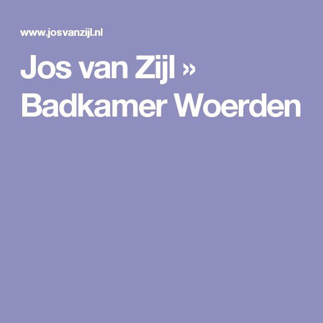 Jos van Zijl » Badkamer Woerden