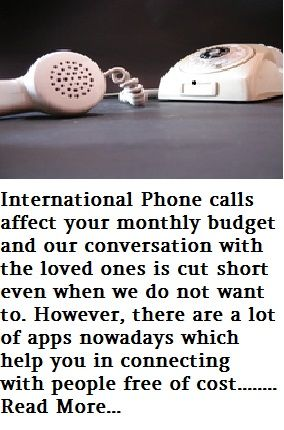 Nowadays, International calls can be paid through different mode like calling card, application, internet banking, mobile banking.