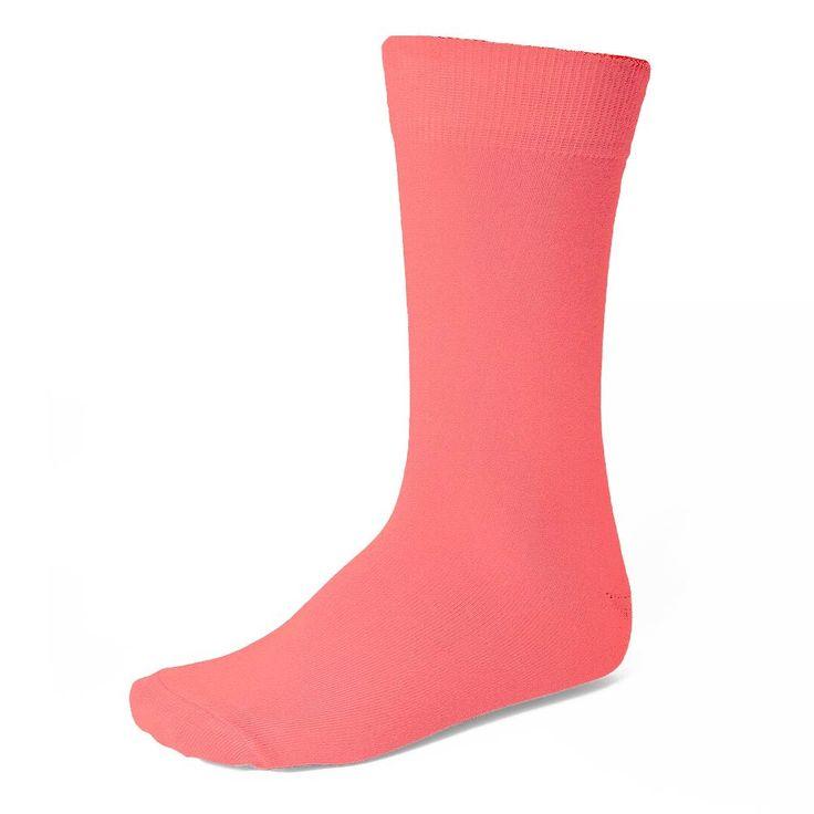 Coral Groomsmen Socks, $5.95 each.