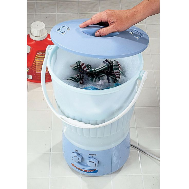 Portable Laundry Washing Machine Small Load Washer